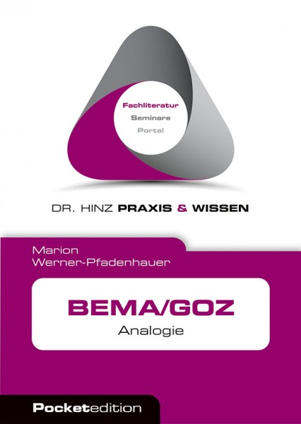 eBook BEMA/GOZ Analogie - Pocket
